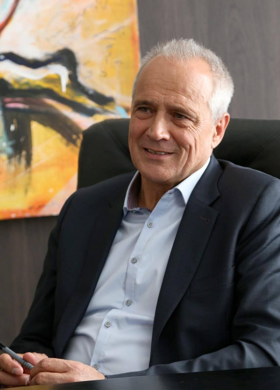 Jean-Luc Longour, président de la communauté de communes Cœur du Var.