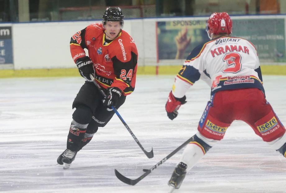 Tuuka Rajamäki et les Aigles veulent conserver leur place dans la zone des play-offs.