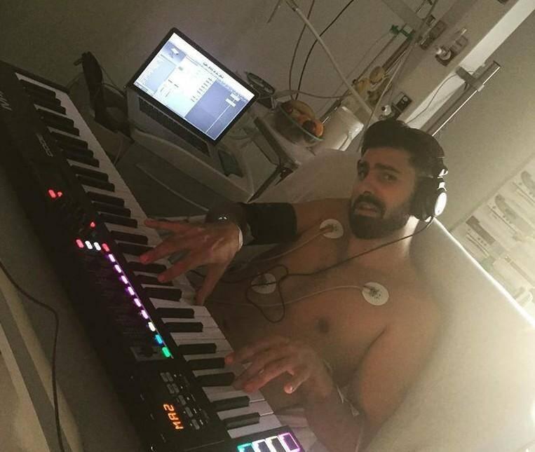 Matias Bonnot a composé une chanson sur son lit dhôpital.