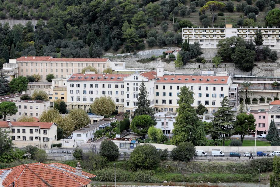 L'hôpital Sainte-Marie de Nice.