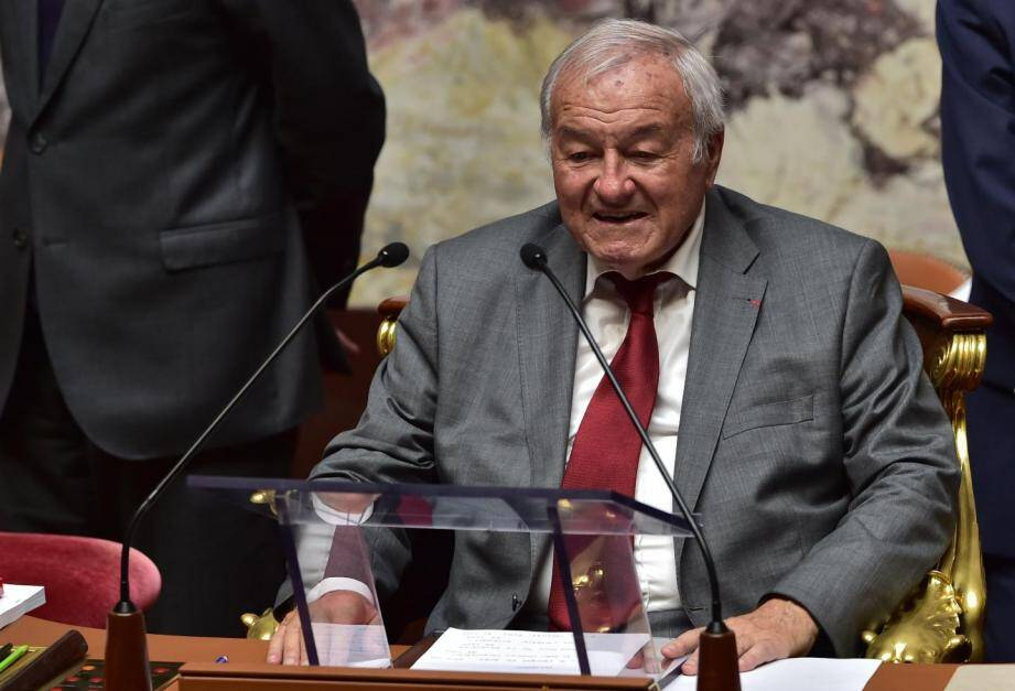 Bernard Brochand en 2017.