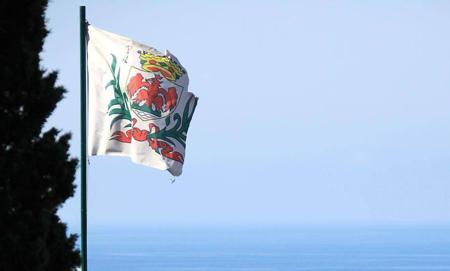 Le drapeau niçois.