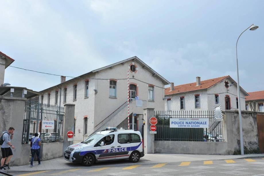 La caserne Auvare, à Nice.