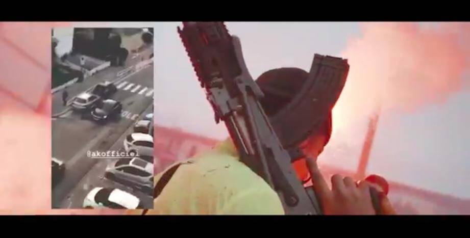 Le clip du rappeur AK est tourné dans les quartier de Las Planas et du Rouret, à Nice-Nord.