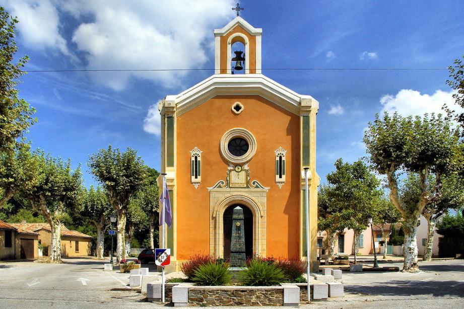 L'église Sainte-Marie-Madeleine de La Môle.