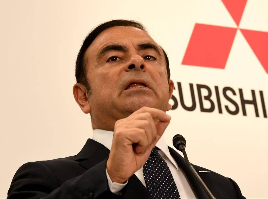 Carlos Ghosn en octobre 2016.