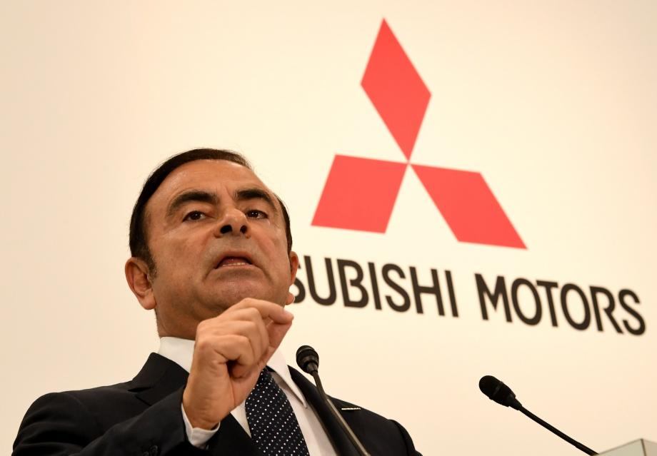 Carlos Ghosn en octobre 2016.