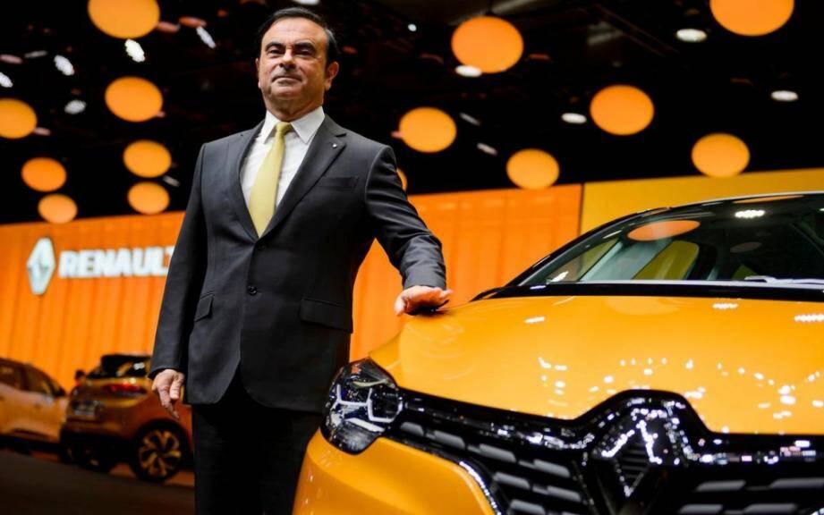 Carlos Ghosn du temps où il était PDG de Renault.