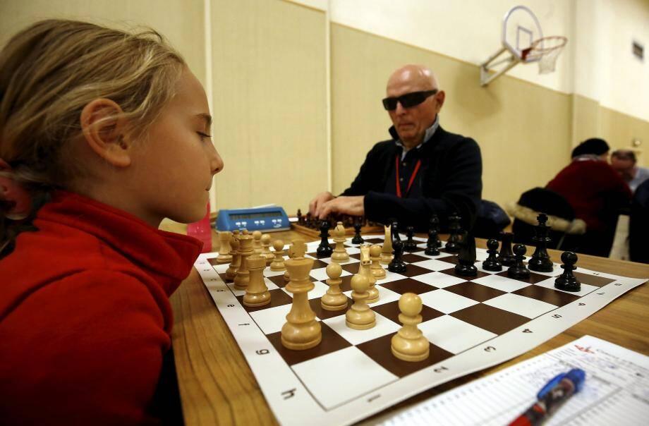 33 malvoyants et 7 enfants ont participé à ce tournoi.