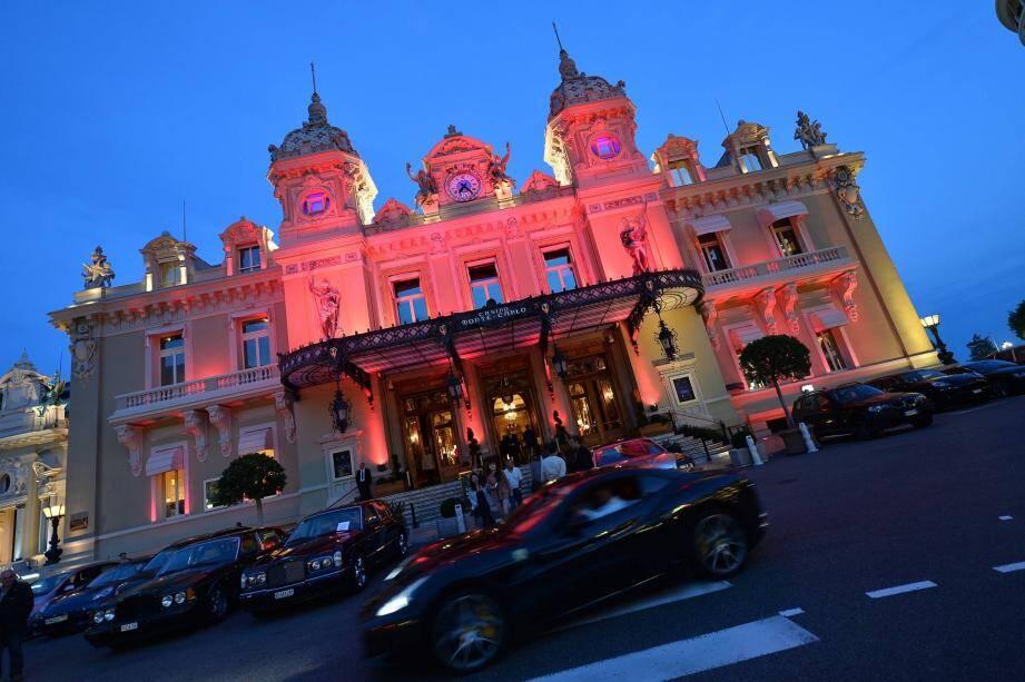 La place du Casino, à Monaco.