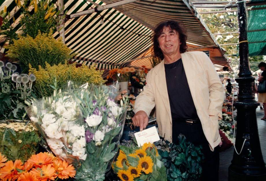 Ici en 2008 sur le Cours Saleya.