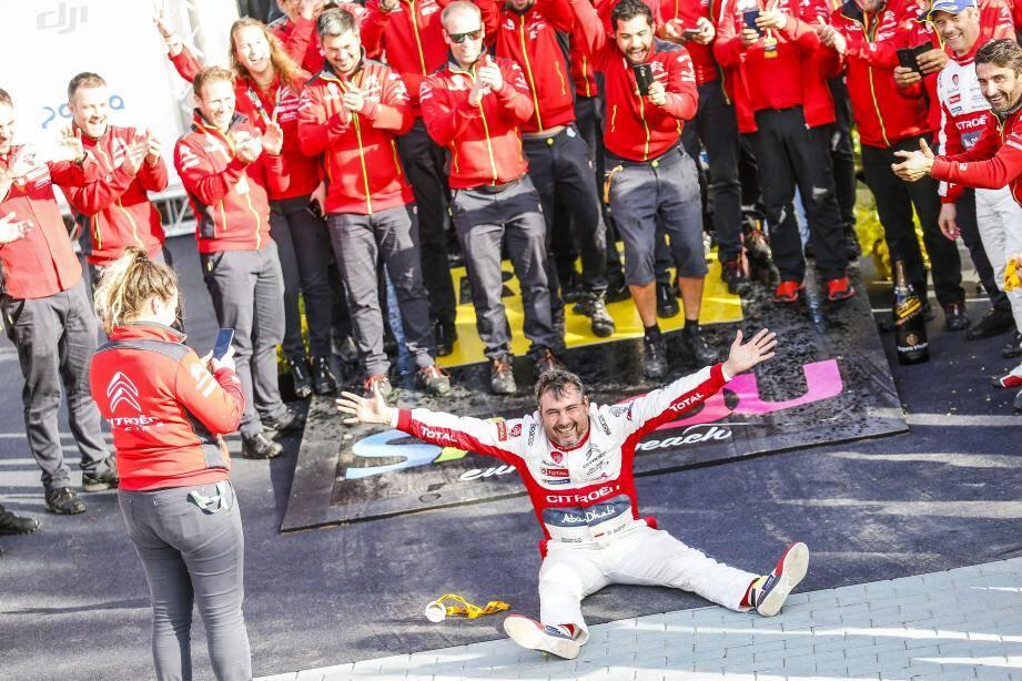 Daniel Elena : « Revenir au sommet comme ça, au plus fort de la bagarre pour le titre WRC, c'est géant, émotionnellement parlant. »