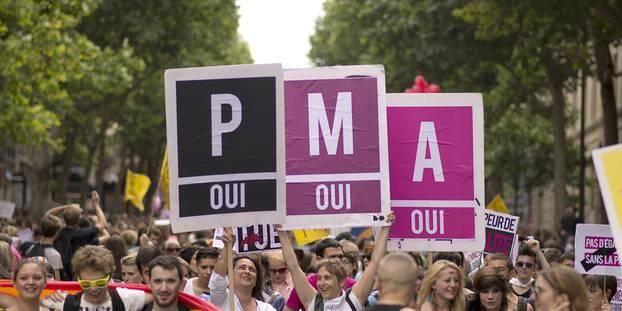 Emmanuel Macron a assuré que la PMA serait promulguée en 2019.