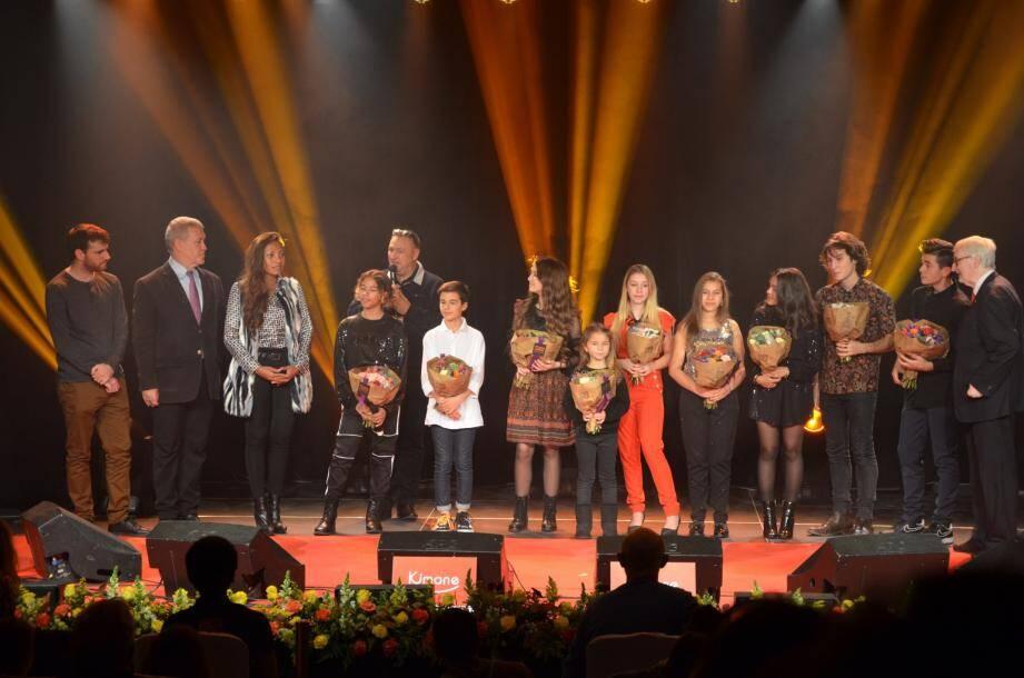 Les artistes ont été remerciés par le maire Gérard Spinelli.