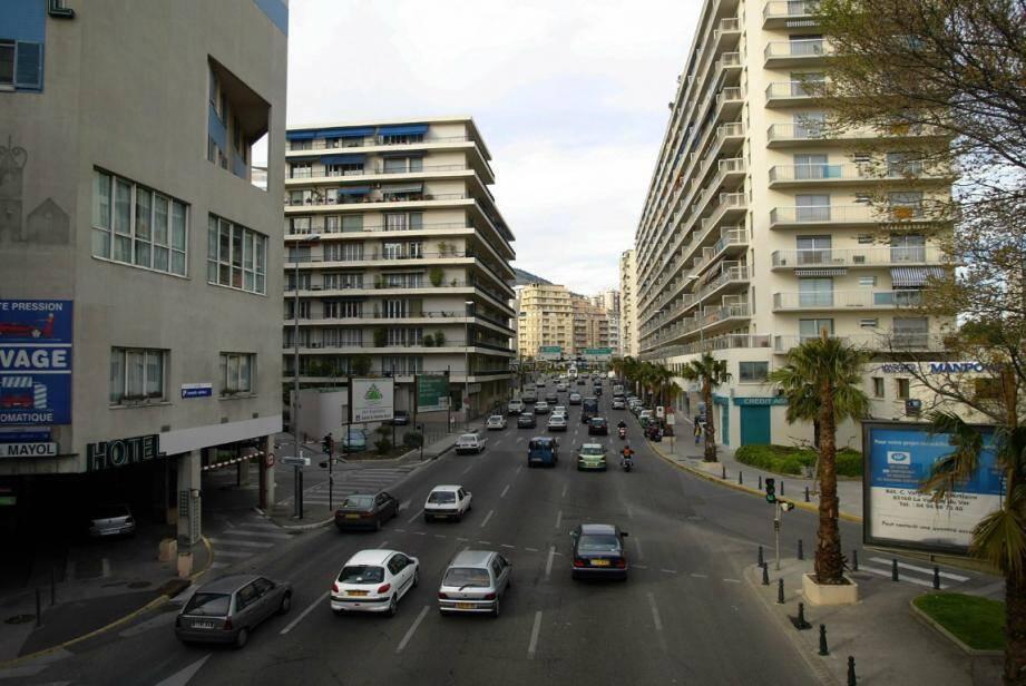 Une voie descendante devrait faire son apparition sur l'un des grands boulevards toulonnais.