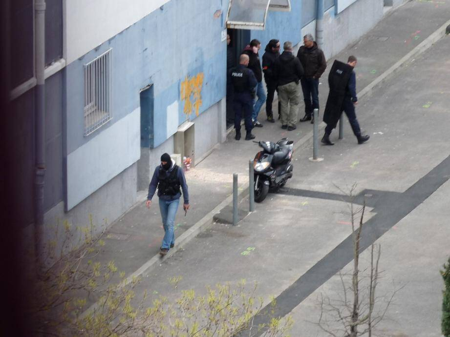 Une opération de police à La Poncette dans le quartier Sainte-Musse à Toulon (image d'illustration).