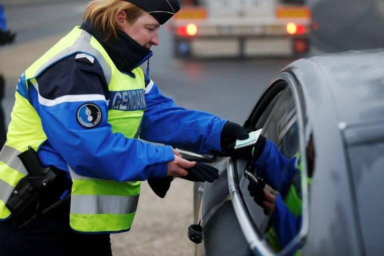 Illustration contrôle de gendarmerie.