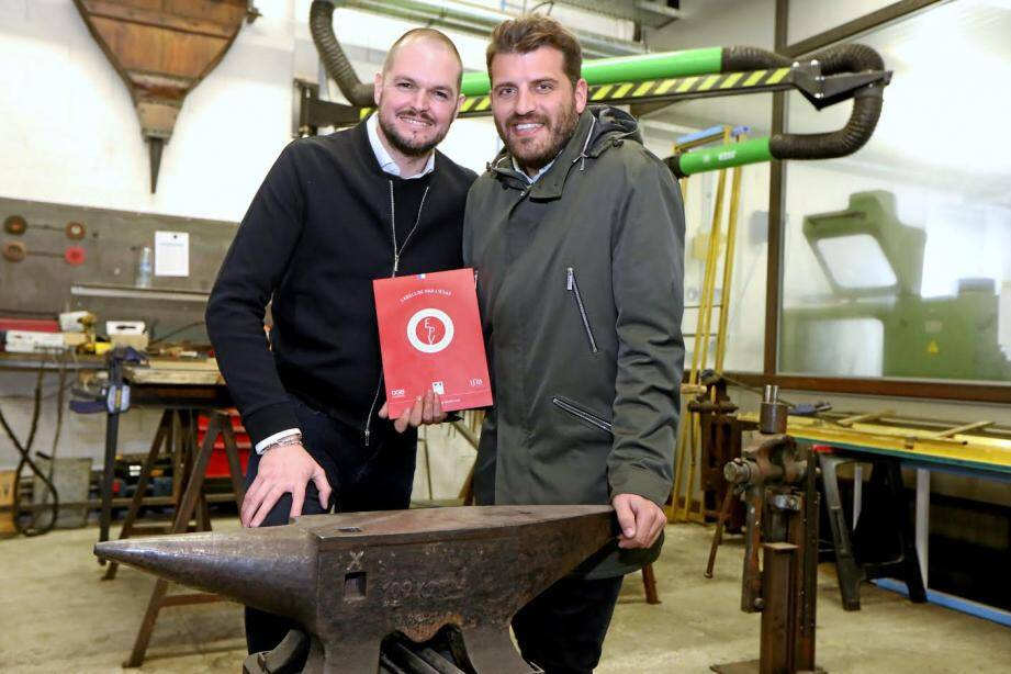 Nicolas Singery, 32 ans et Thomas Lesueur, 32 ans cofondateurs et associés.