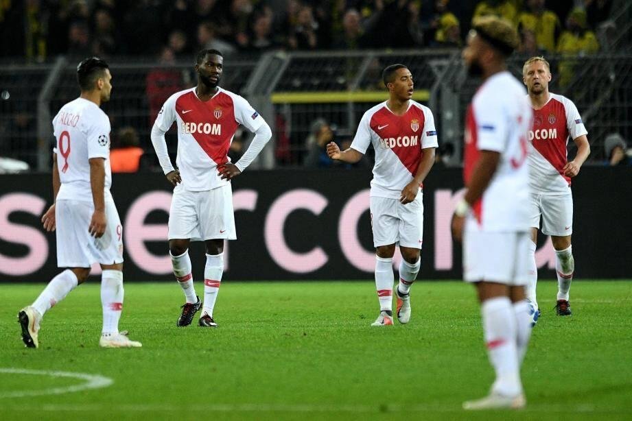 Falcao, Aholou, Tielemans, Sylla et Glik s'étaient pliés 3-0 face à Dortmund , en octobre dernier
