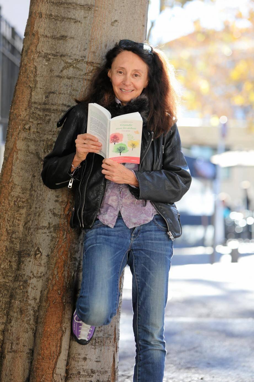Catherine Davau est sensible aux arbres et à leur énergie depuis toute petite.