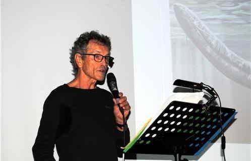 Le conférencier Laurent Stieltjes.