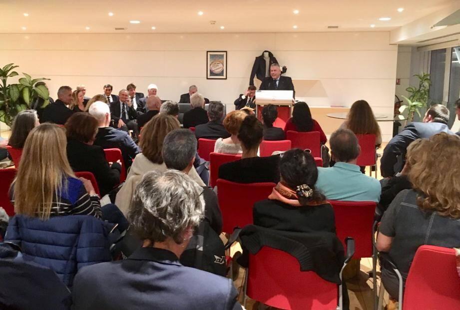 Pour le président de la Société nautique de Monaco, Jean-Marc Giraldi, c'était l'heure du bilan d'une année riche en événements, ce mercredi soir.