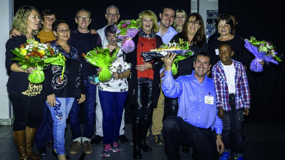 Radeau, entreprise solidaire d'utilité sociale, fête ses vingt ans à la salle de la Batterie.(DR)