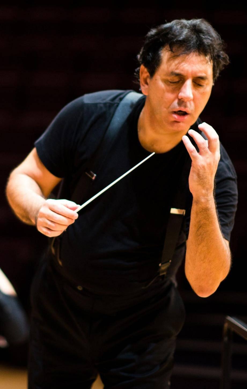 Le chef d'orchestre Andrea Morricone, fils de la légende Ennio Morricone.