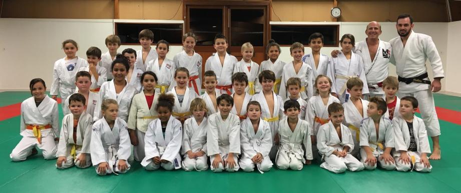 Les jeunes judokas ont parfaitement entamé la saison 2018/2019.(Photo P. O.
