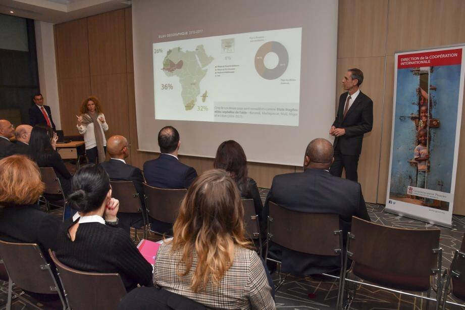 Présentation de la stratégie de coopération Internationale de Monaco entre 2018 et 2020.