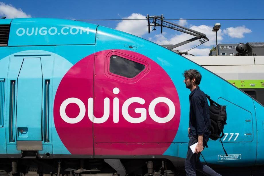Depuis hier, Ouigo dessert les gares des Alpes-Maritimes et du Var en provenance et en direction de Paris.