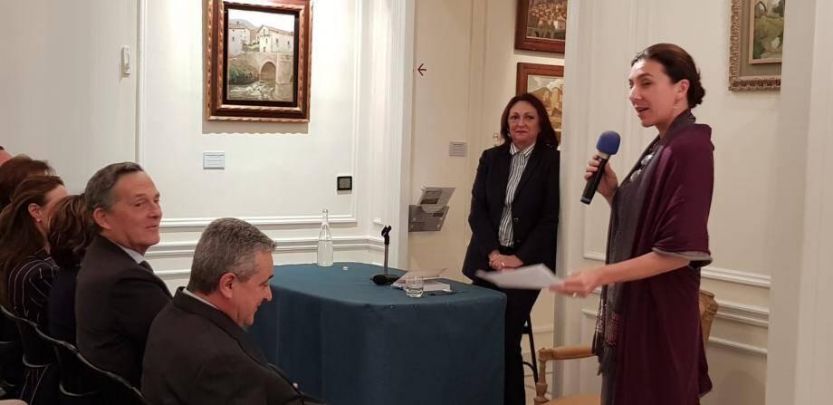 Hélène Bonafous, conservatrice du musée privé Villa Les Camélias, a invité Martine Gasquet, auteur du livre Les Oubliées de la Victoire aux Éditions Gilletta, à présenter le destin de quelques héroïnes de la Première Guerre Mondiale.(DR)