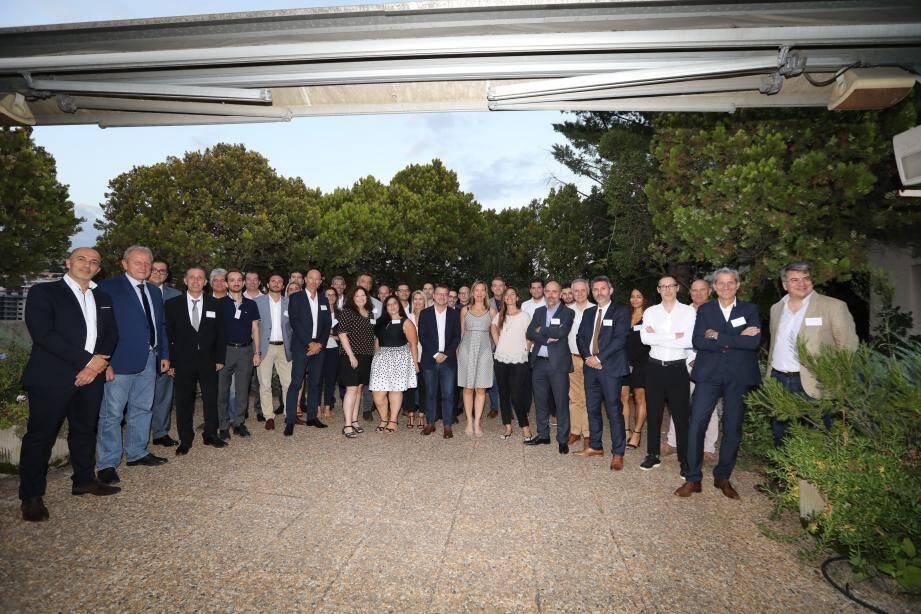 Le Hub Business du groupe Nice-Matin s'était réuni en octobre au siège du journal.