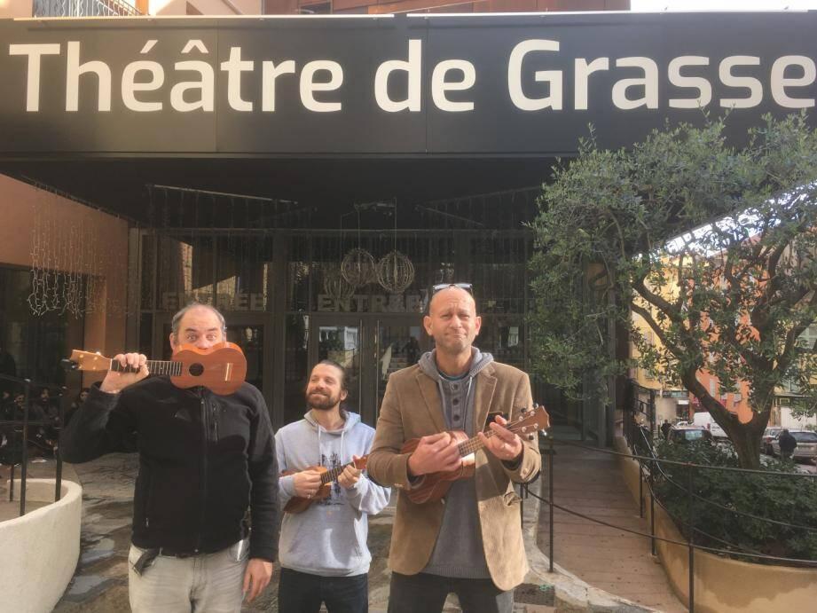 La compagnie Gorgomar présenterale Grand orchestre de poche, mercredi 19 décembre, à 19 h, au TDG.