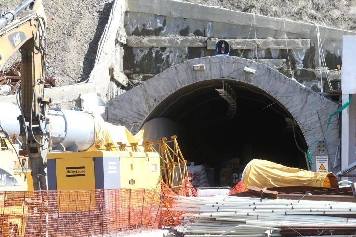Le chantier de percement du tunnel de Tende pourrait ne pas reprendre avant 2027.