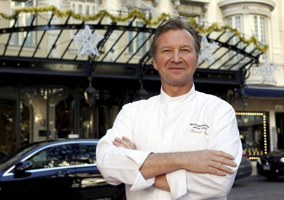 Le chef Benoît Witz recommande les produits de la mer, plus digestes avant d'aller danser.