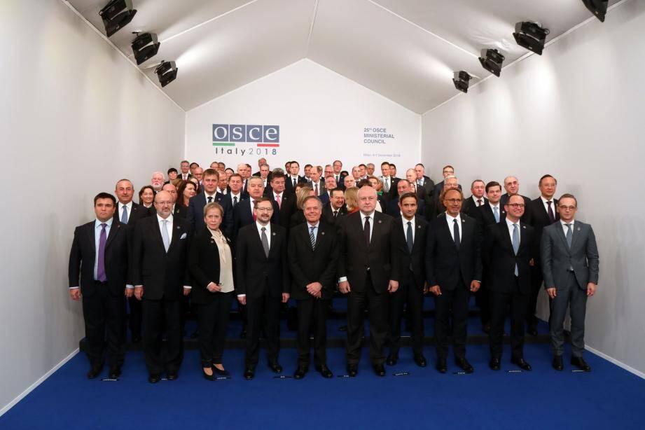 25e conseil ministériel de l'Organisation pour la sécurité et la coopération en Europe .(DR)