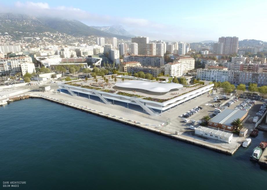 """Le projet de """"parking-esplanade"""" présenté par la Chambre de commerce est estimé à 40 millions d'euros."""