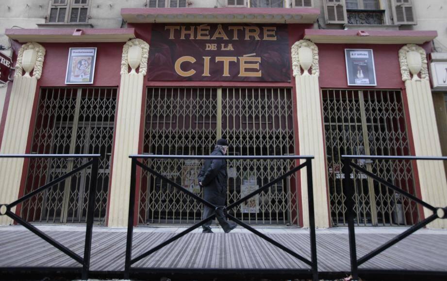 Le théâtre de la Cité à Nice.