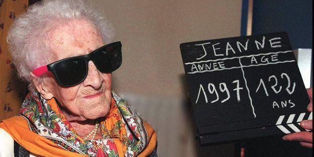 Jeanne Calment est décédée en 1997 à l'âge de 122 ans.