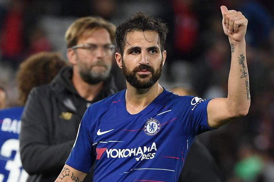 Le contrat de Fabregas avec Chelsea se termine au mois de juin.