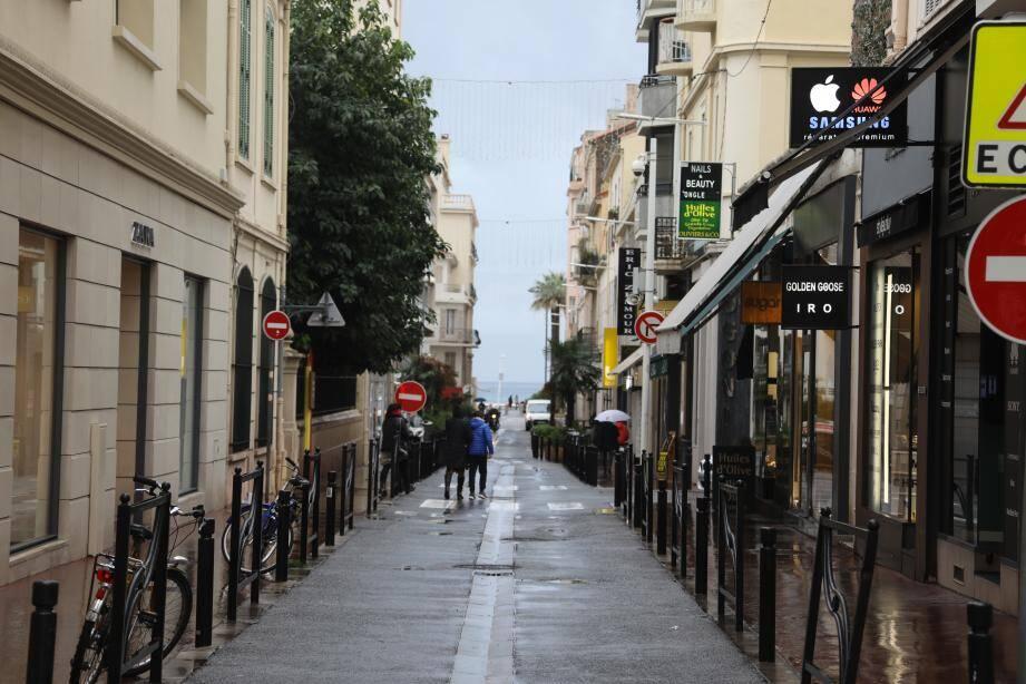 La rue Macé fait partie des voies concernées par les travaux de la dernière tranche du Carré d'Or.