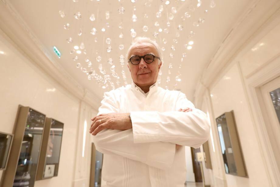 Alain Ducasse ouvrira, le 7 janvier, le restaurant Ômer à Monaco.