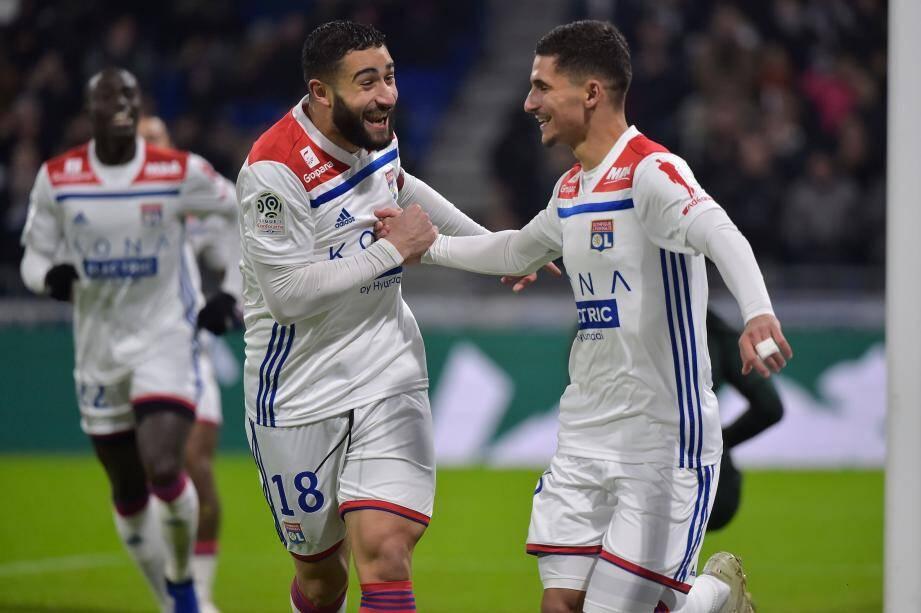 L'AS Monaco dépassée à Lyon.