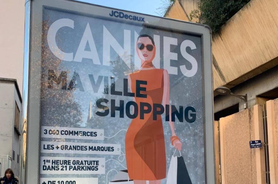 Frédéric Masquelier na que peu goûté à la campagne de publicité de la ville de Cannes dans sa cité.