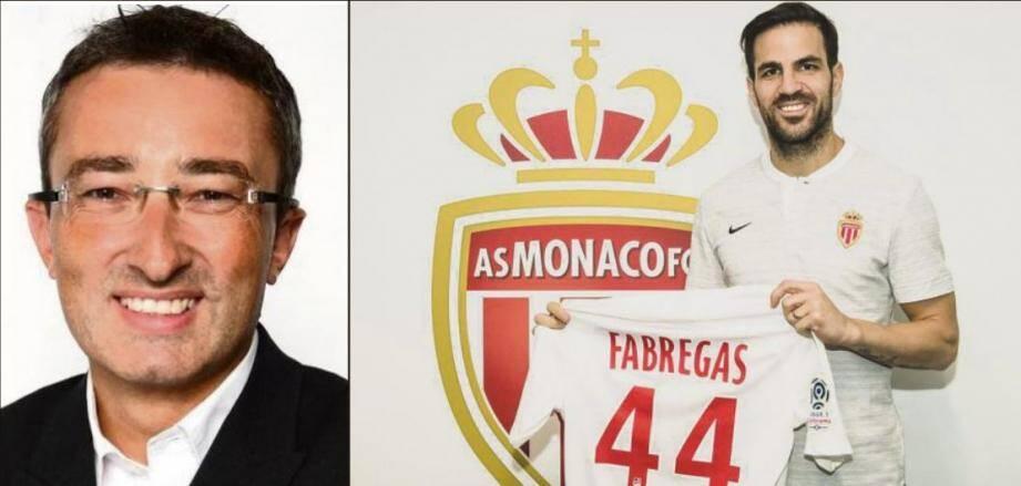 Un transfert qui réjouit Fabregas et ravit totalement le fan de l'ASM, Eric Huet.