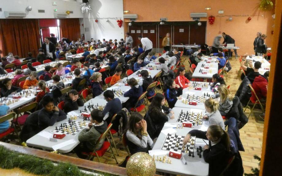 161 joueurs varois se sont affrontés ce week-end. Six Farlèdois se sont qualifiés.