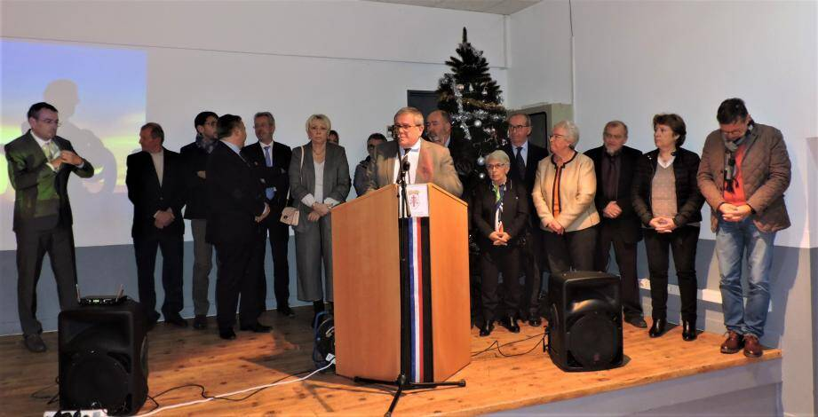René Ugo soutenu par les maires et élus.