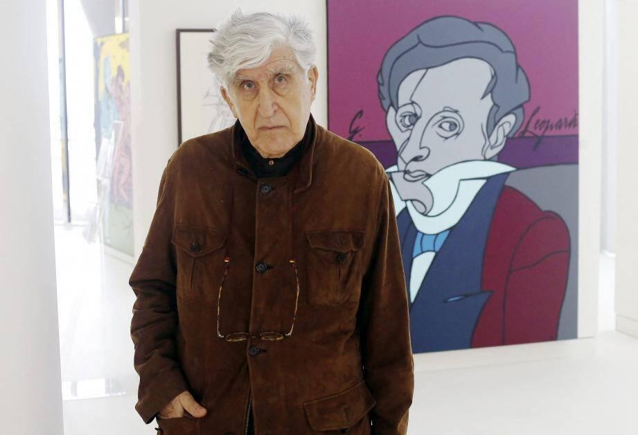 L'artiste italien Valerio Adami.