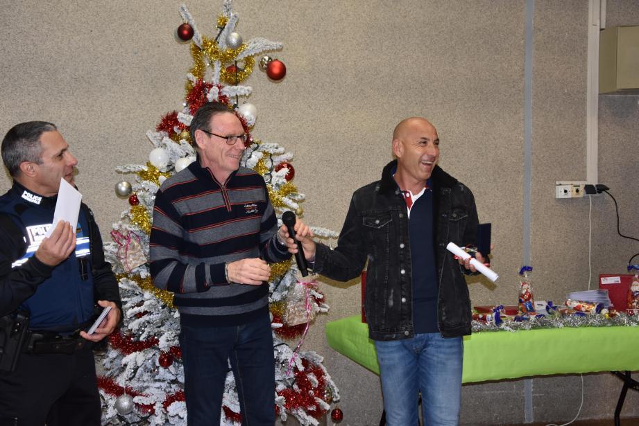 Thierry Scursoglio (à droite) : 35 ans de liens très forts avec la mairie, la jeunesse et le milieu associatif.